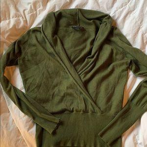 BCBG/MaxAzria. Silk/cashmere sweater